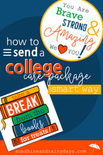 College Care Package Box Decor (PDF)