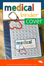 Medical Binder Cover (PDF)