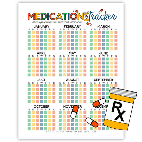 Medication Tracker (PDF)