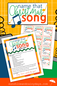 Name That Christmas Song Game - PDF