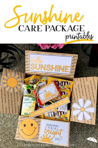 Sunshine Box Printables (PDF)