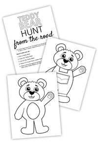 Teddy Bear Hunt From The Road For Bloggers (PDF)