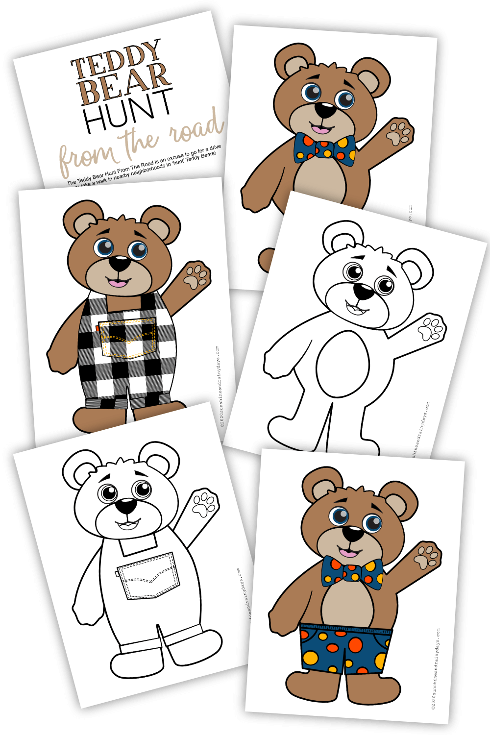 Teddy Bear Hunt From The Road (PDF)