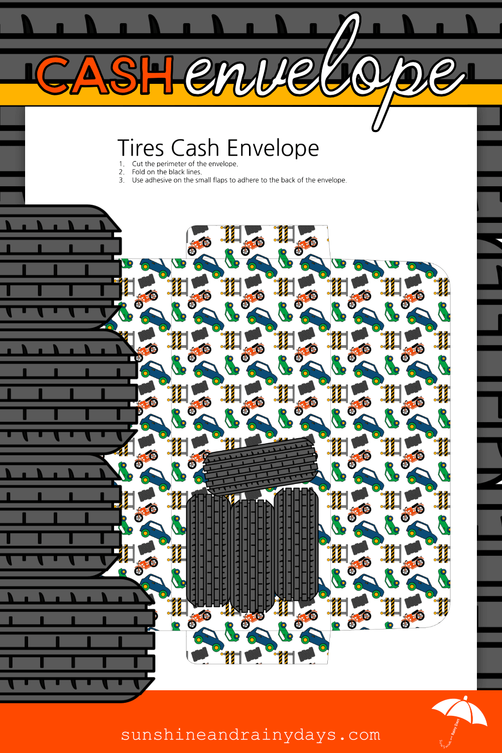 Tires Cash Envelope (PDF)