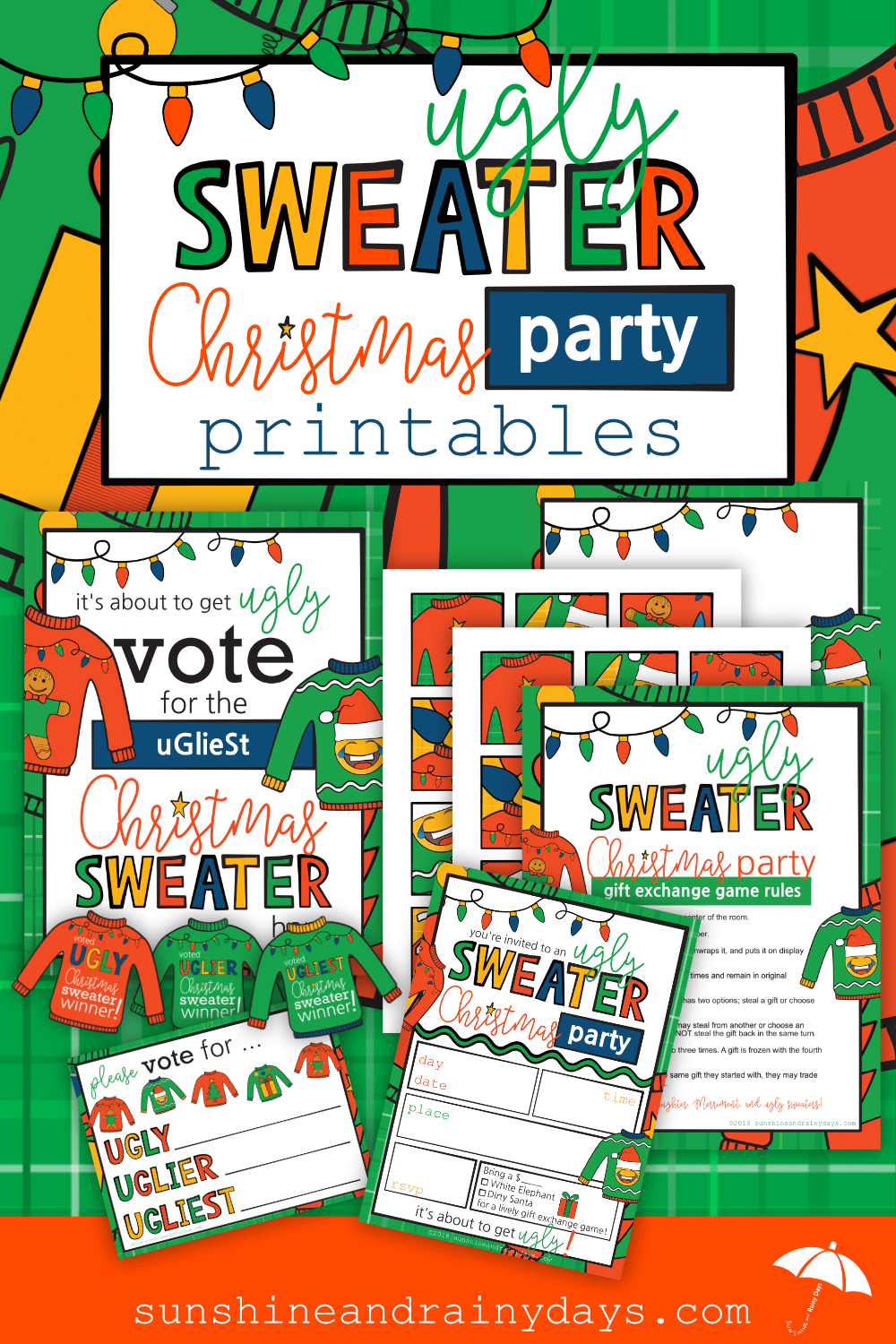 Ugly Sweater Christmas Party PDF