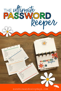 Ultimate Discbound Password Keeper (PDF)