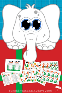 White Elephant Invites, Rules, and Game Cards (PDF)