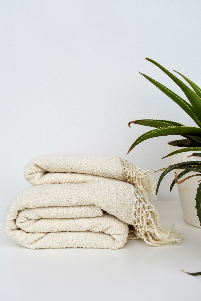 Aniqa Handwoven Towel Available in two Sizes
