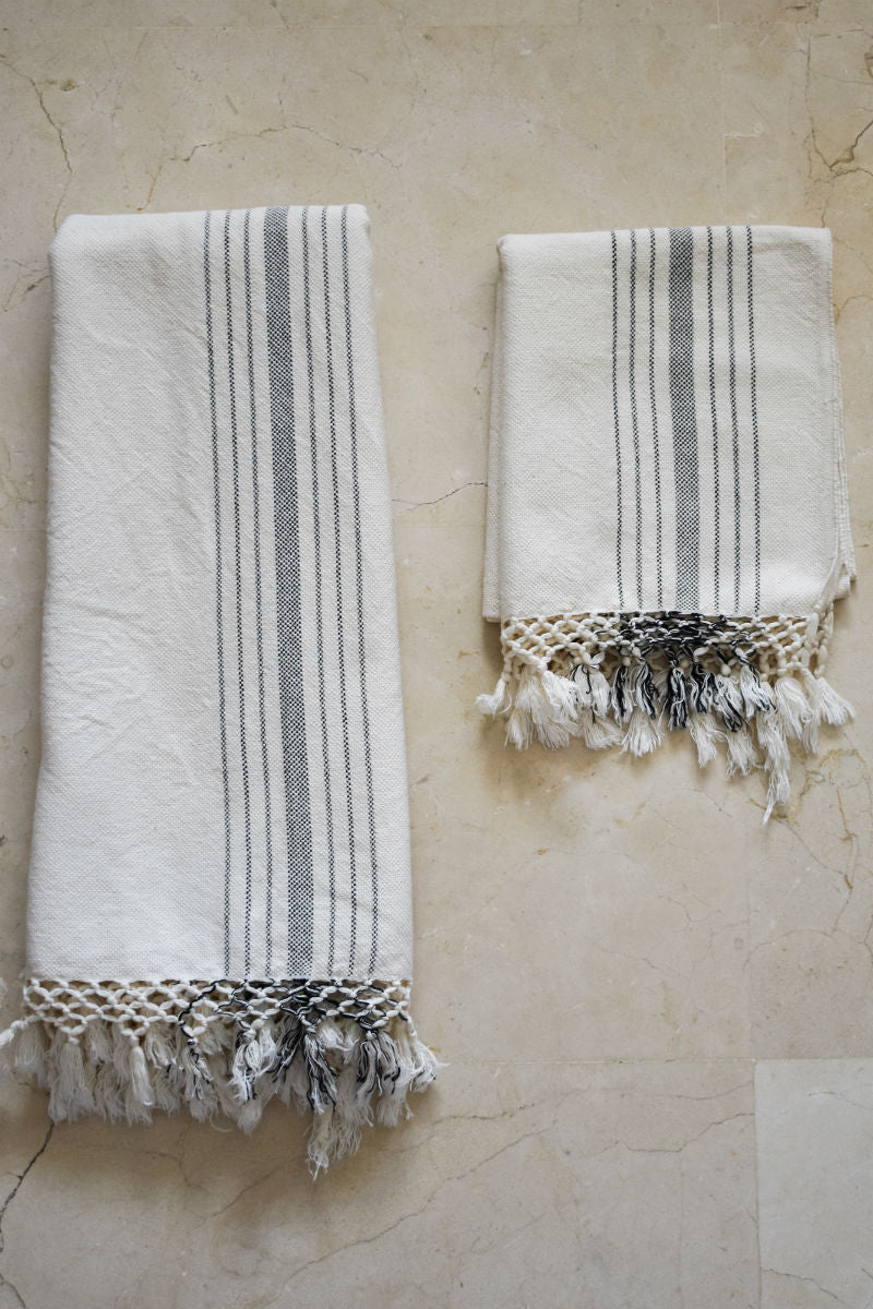 Elia Handwoven Hand and Bath Towel