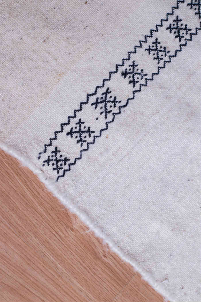 Slide View 1: Illy Handwoven Berber Flat-weave Rug
