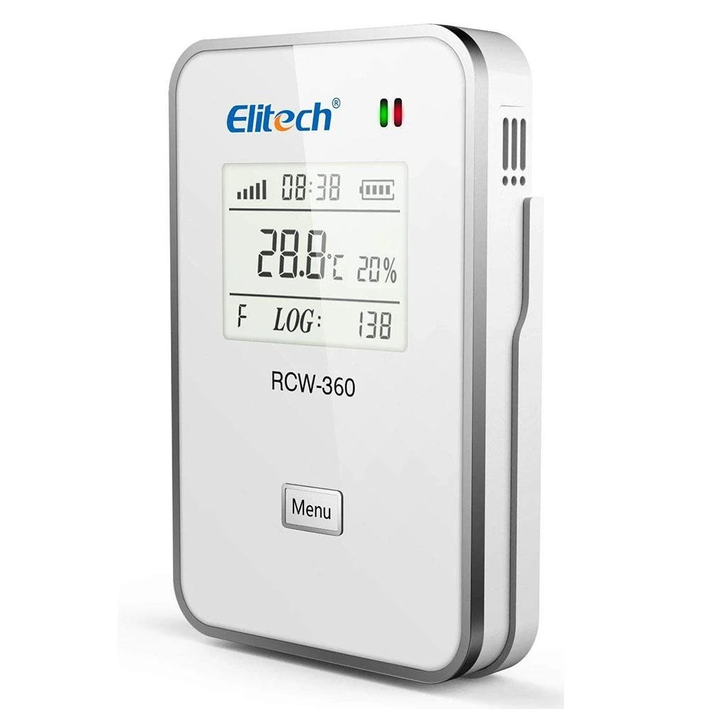 Elitech RCW-360 IoT Temperature and Humidity Data Logger Wireless Remote Monitor Cloud Data Storage