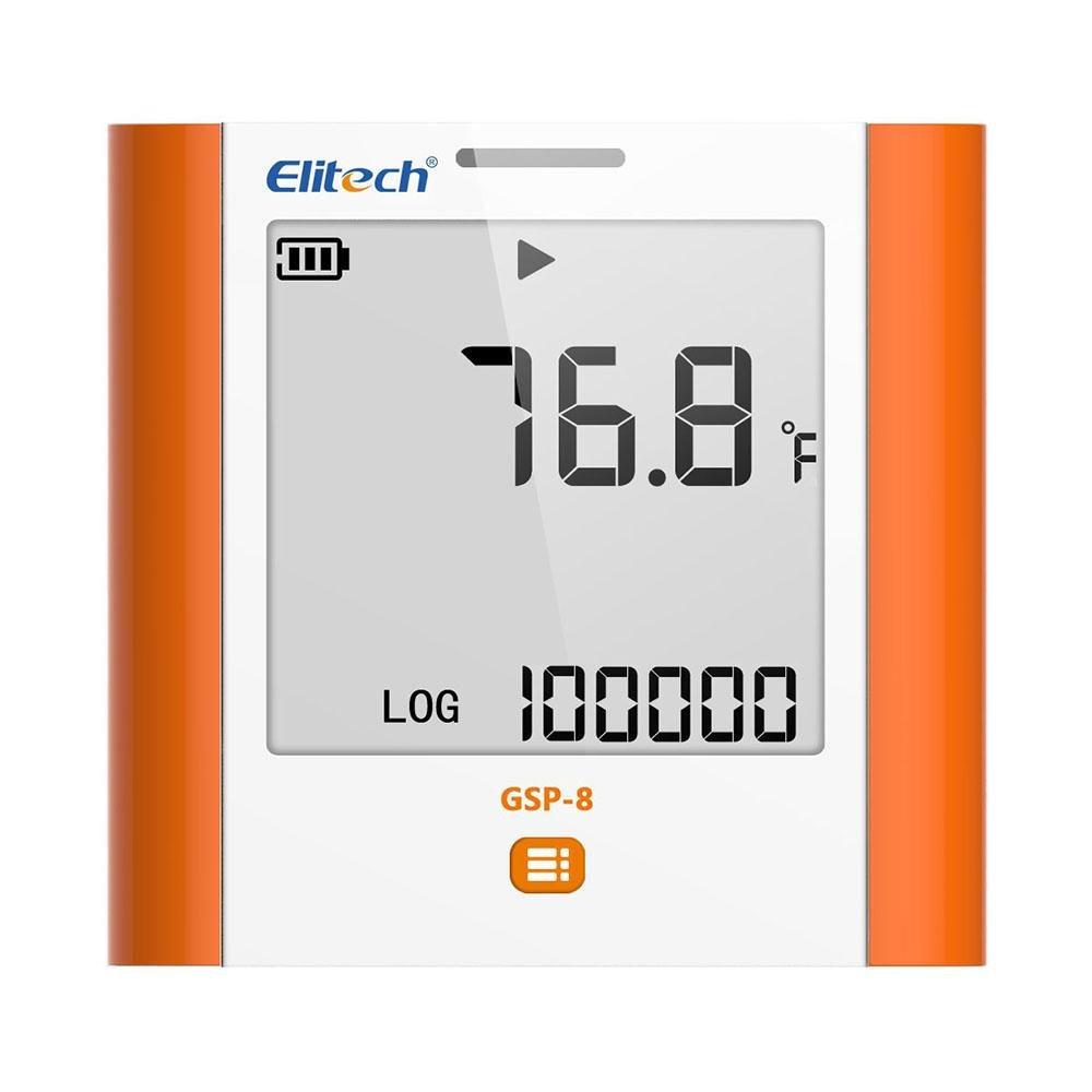 Elitech GSP-8 Temperature and Humidity Data Logger Recorder 100000 Points Refrigeration Cold Chain - Elitechustore