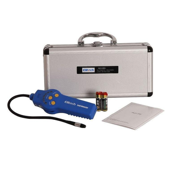 Elitech HLD-200 Refrigeran Leak Detector Halogen Leak Dectector Freon Checker CFCs HCFCs HFCs with Replaceable Sensor - Elitechustore