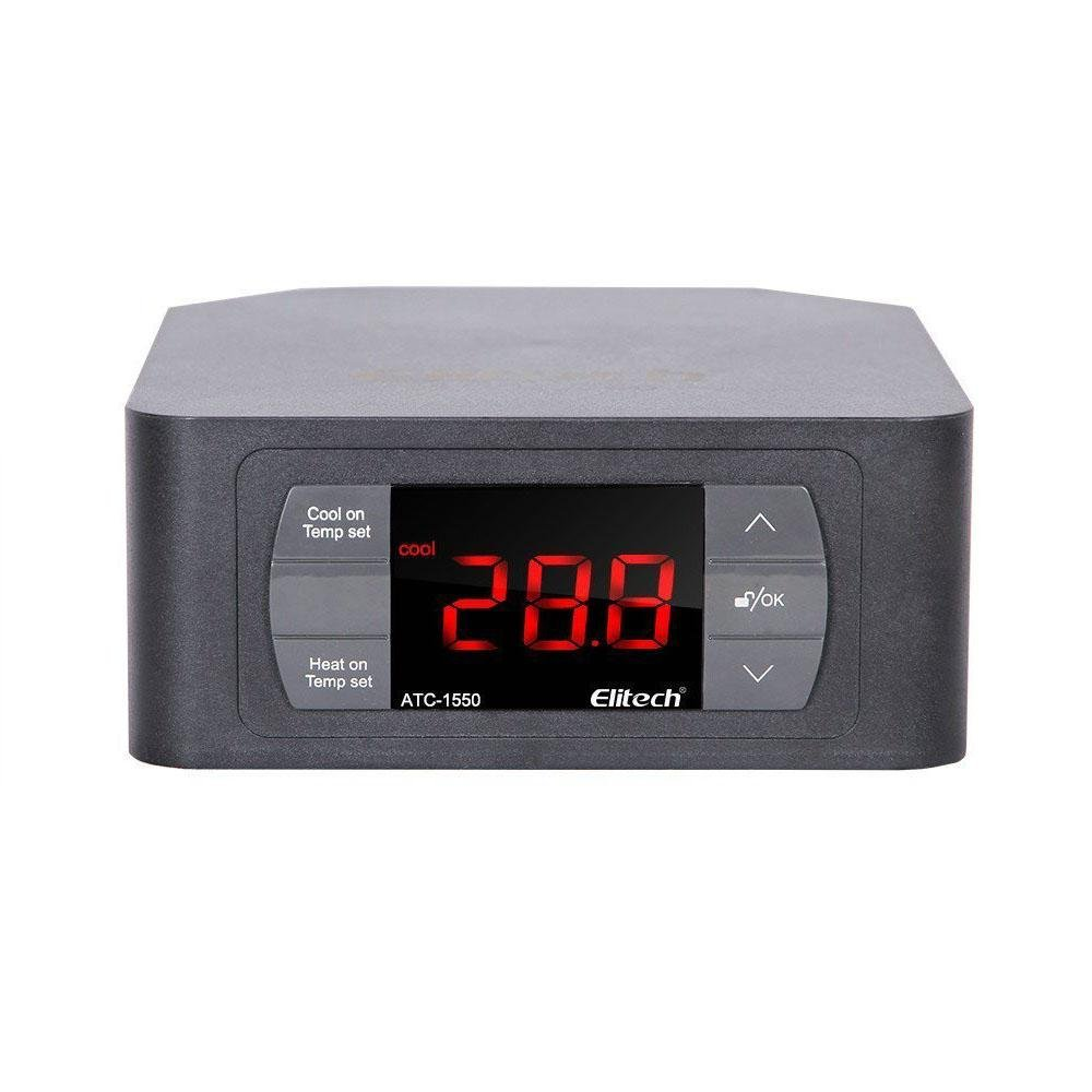 Elitech Pre-wired ATC-1550 Temperature Controller Automatic Cooling Heating - Elitechustore