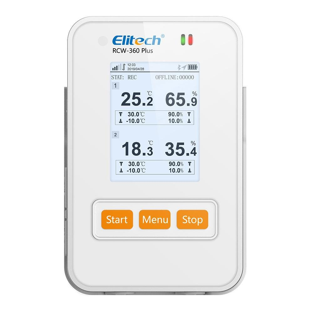 Elitech RCW-360 Plus 4G Wireless Temperature and Humidity Data Logger Series - Elitech Technology, Inc.