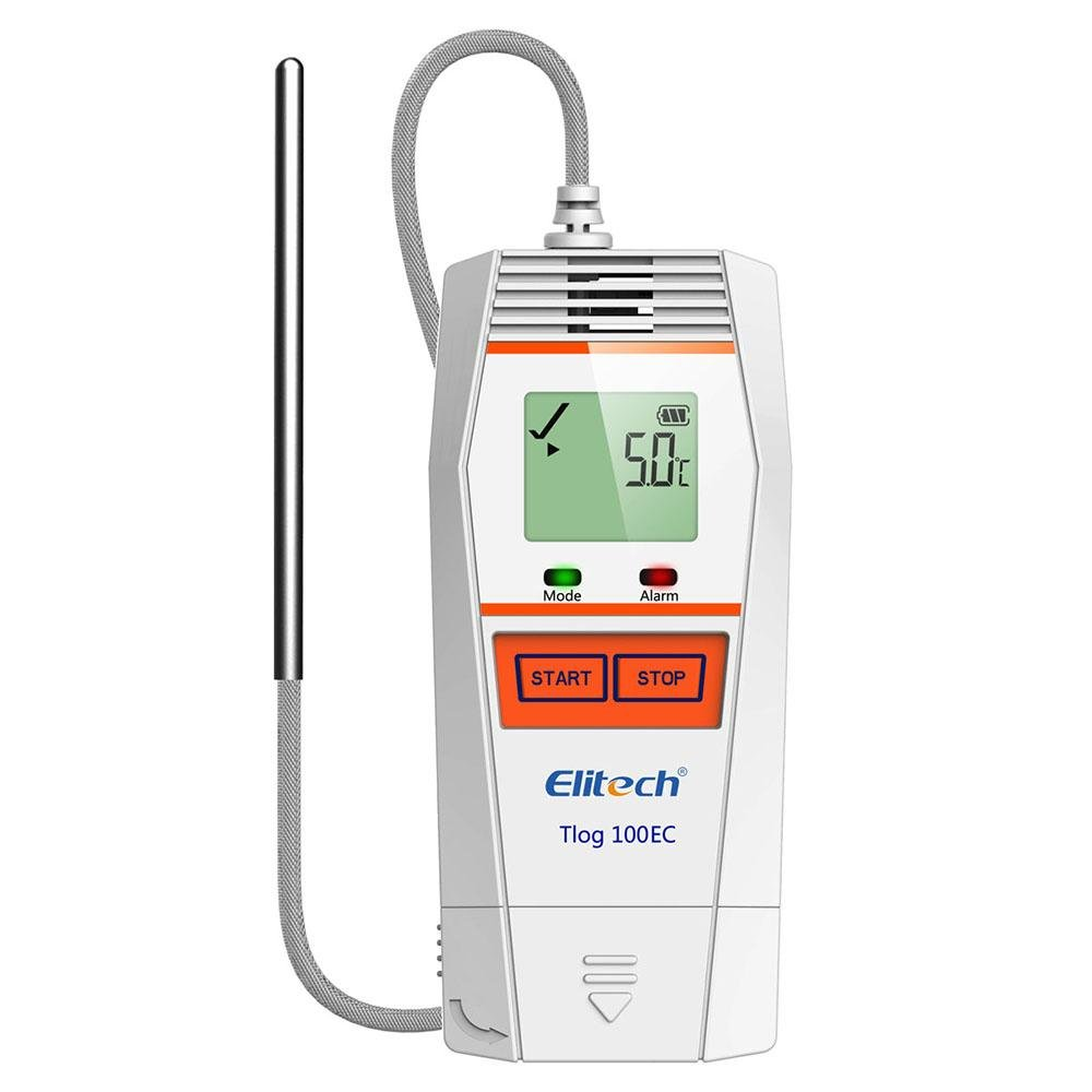 Elitech Tlog 100EC Ultra Low USB Reusable Temperature Data Logger -121°F to 185°F - Elitech Technology, Inc.