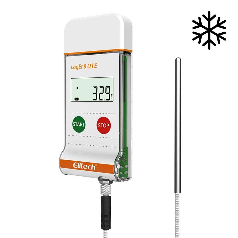 Elitech Ultra-low Temperature Data Logger LogEt 8 UTE - Elitech Technology, Inc.