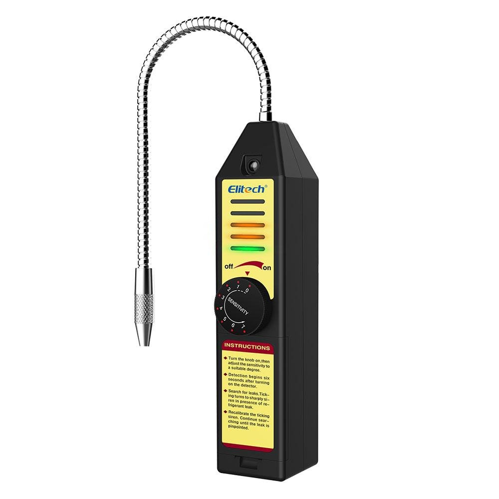 Elitech WJL-6000S Refrigerant Leak Detector Flashlight - Elitech Technology, Inc.