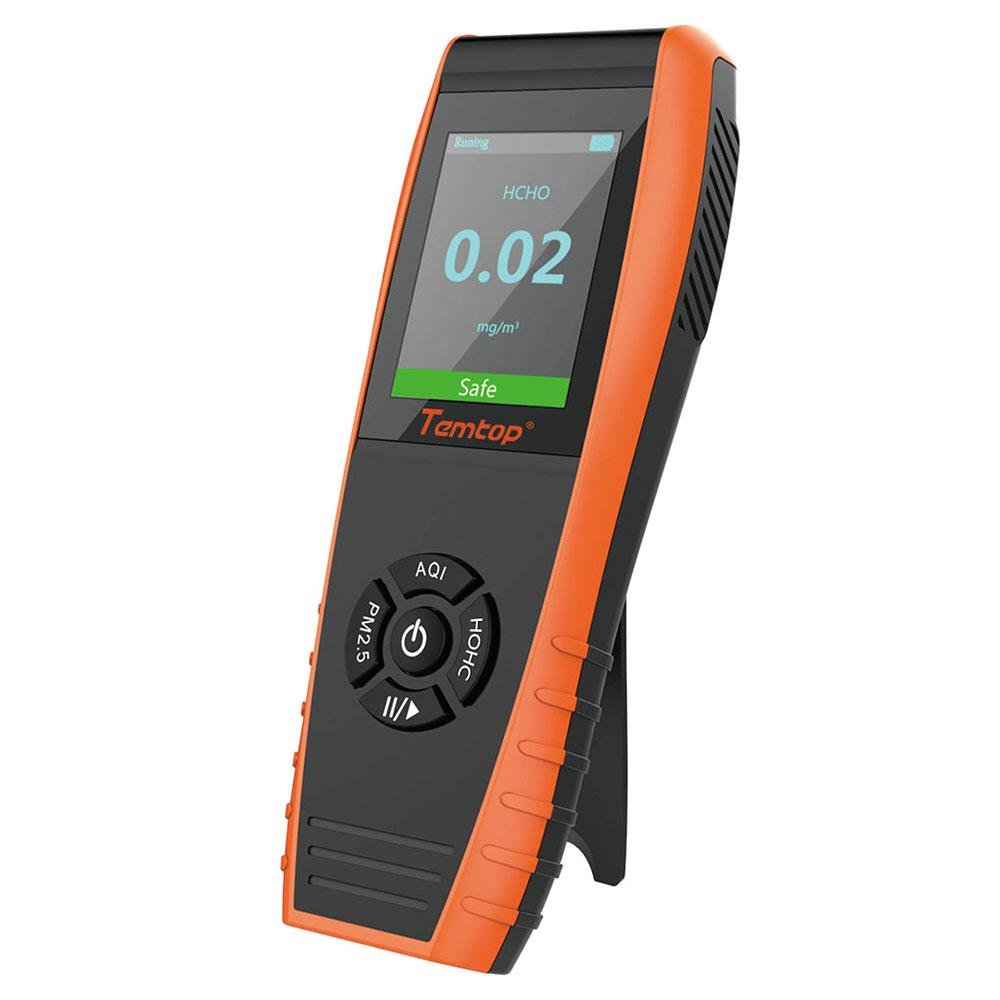 Temtop LKC-1000S Air Quality Detector PM2.5/PM10/HCHO/AQI/Particles - Elitech Technology, Inc.