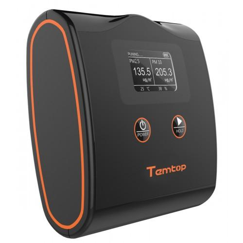 Temtop LKC-20T High Accuracy Air Quality Monitor PM2.5/PM10 Temperature and Humidity Detector - Elitechustore