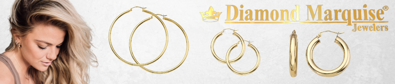 14Kt Gold Hoop Collection