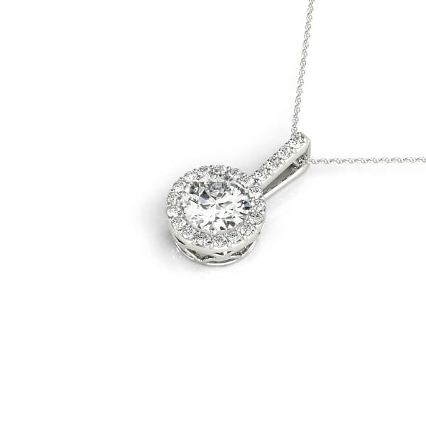 Diamond Necklace 0.25 ct tw 14kt White Gold