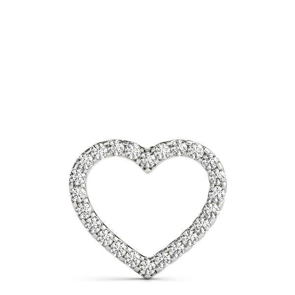 Diamond Necklace 2.50 ct tw 14kt White Gold