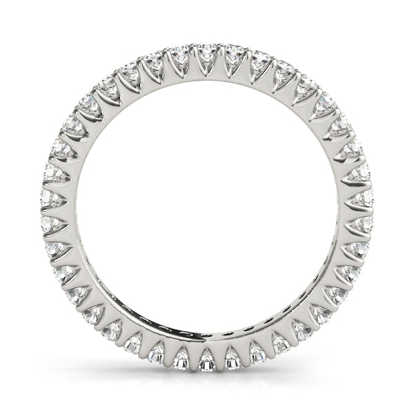 Diamond Band Women's 0.50 ct tw with 14kt Gold White