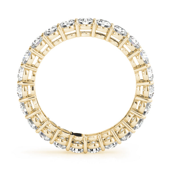 Diamond Band Women's 4.00 ct tw with 14kt Gold Yellow