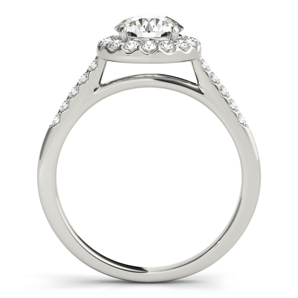 Diamond Ring Women's 1.00 ct tw with 14kt Gold White