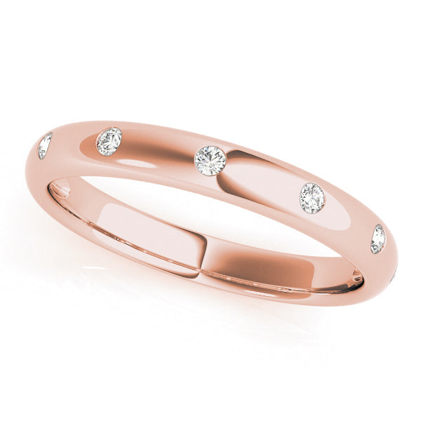 Stackable Diamond Rings 0.20ct 14kt Gold - $993 for Set of 3