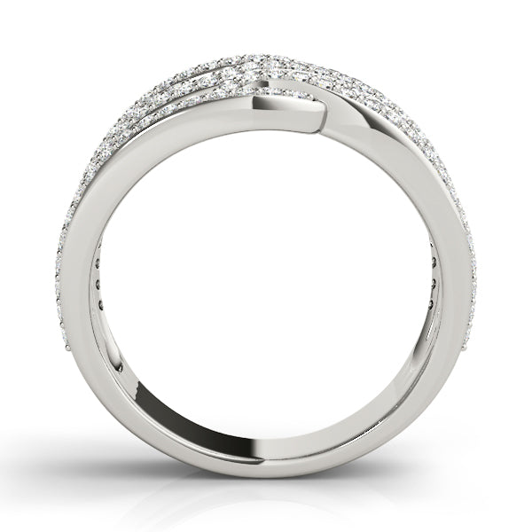 Diamond Ring Women's 1.00ct tw with 14kt Gold White