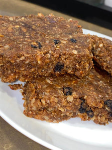 blueberry chia natural food bar - numaade
