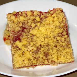 vegan raspberry crumb bar - numaade