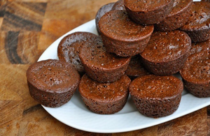 low carb chocolate brownie bites - numaade
