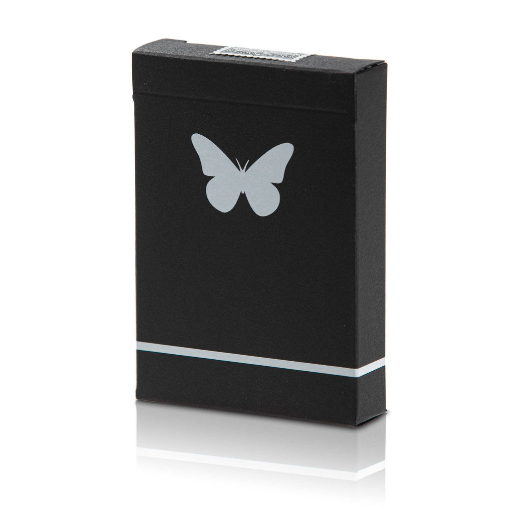 Butterfly Playing Cards Black & White