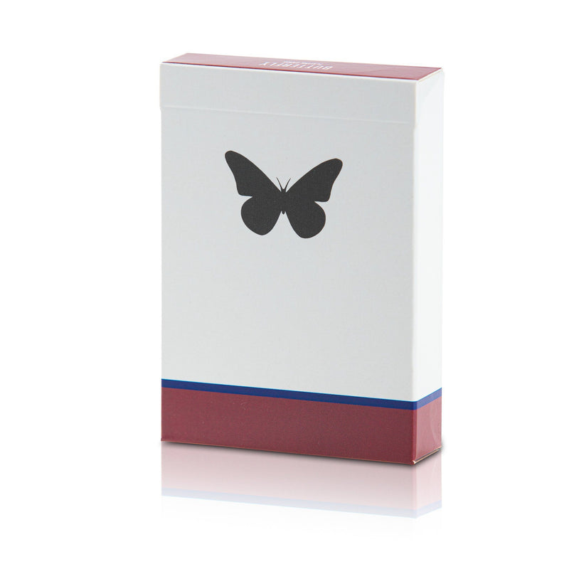 Butterfly Playing Cards Red