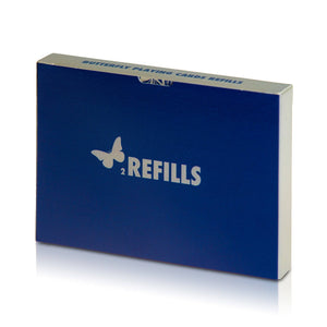 Butterfly Playing Cards 2 Refills Blue