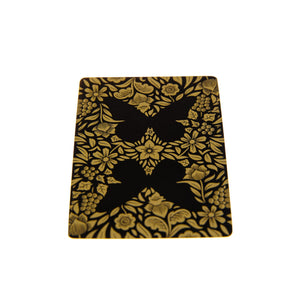 Butterfly Playing Cards Black & GoldButterfly Playing Cards Black & Gold