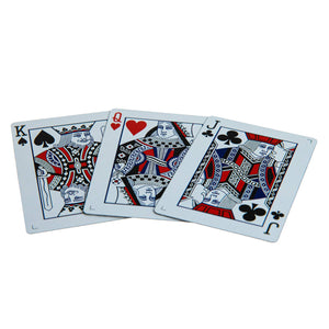 Butterfly Playing Cards Black & White Unmarked