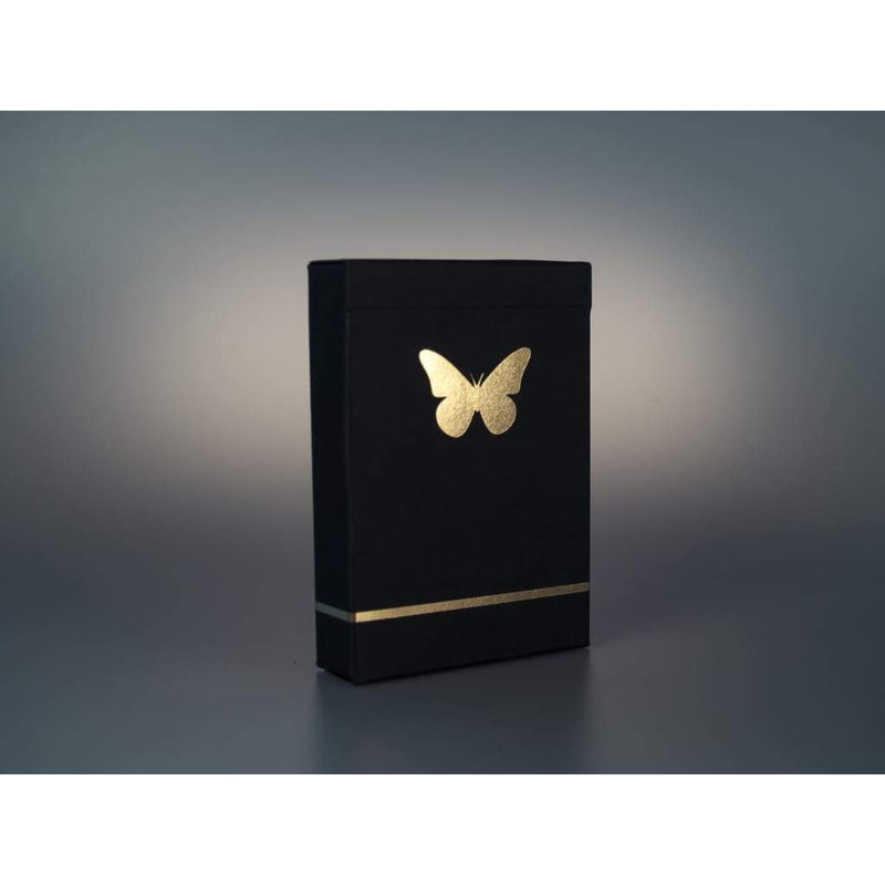 Butterfly Playing Cards Black & Gold (Prototype) - Playing Cards