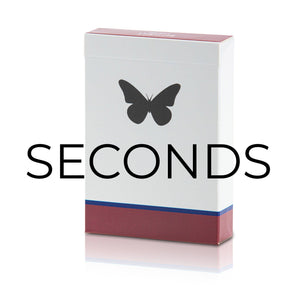 "Butterfly Playing Cards ""Seconds"""