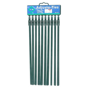 Moss Adjustable Reusable Garden Ties - 20 Pack