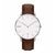 M2WATCH - WHITE SILVER BROWN