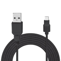 8ft USB A to Micro USB Braided Cable