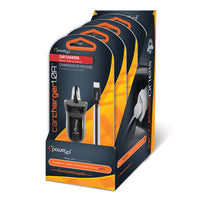 4-pack Micro USB Car Charger 1.0A