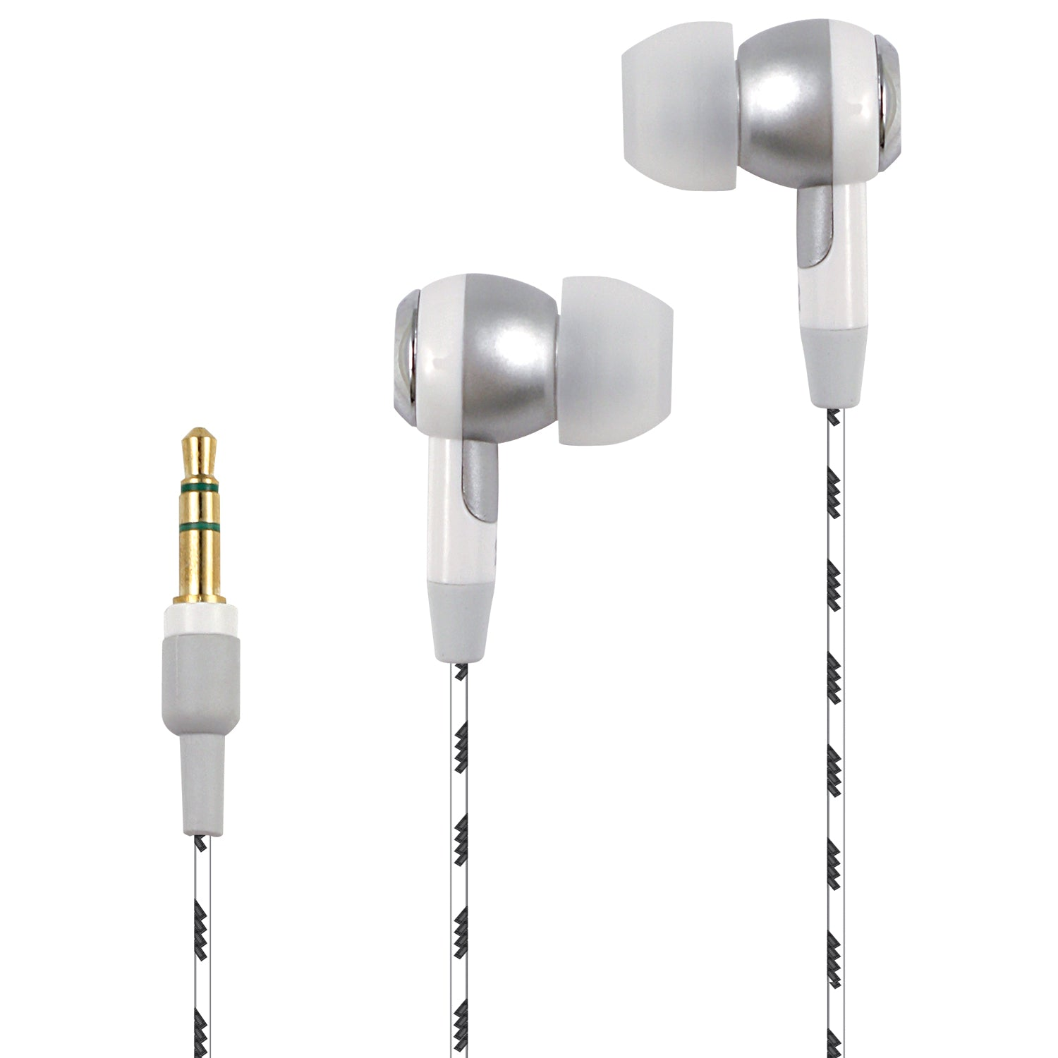 5-pack Stereo Earbuds with Braided Cables