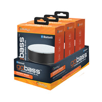 3-pack GoBass Bluetooth Speaker