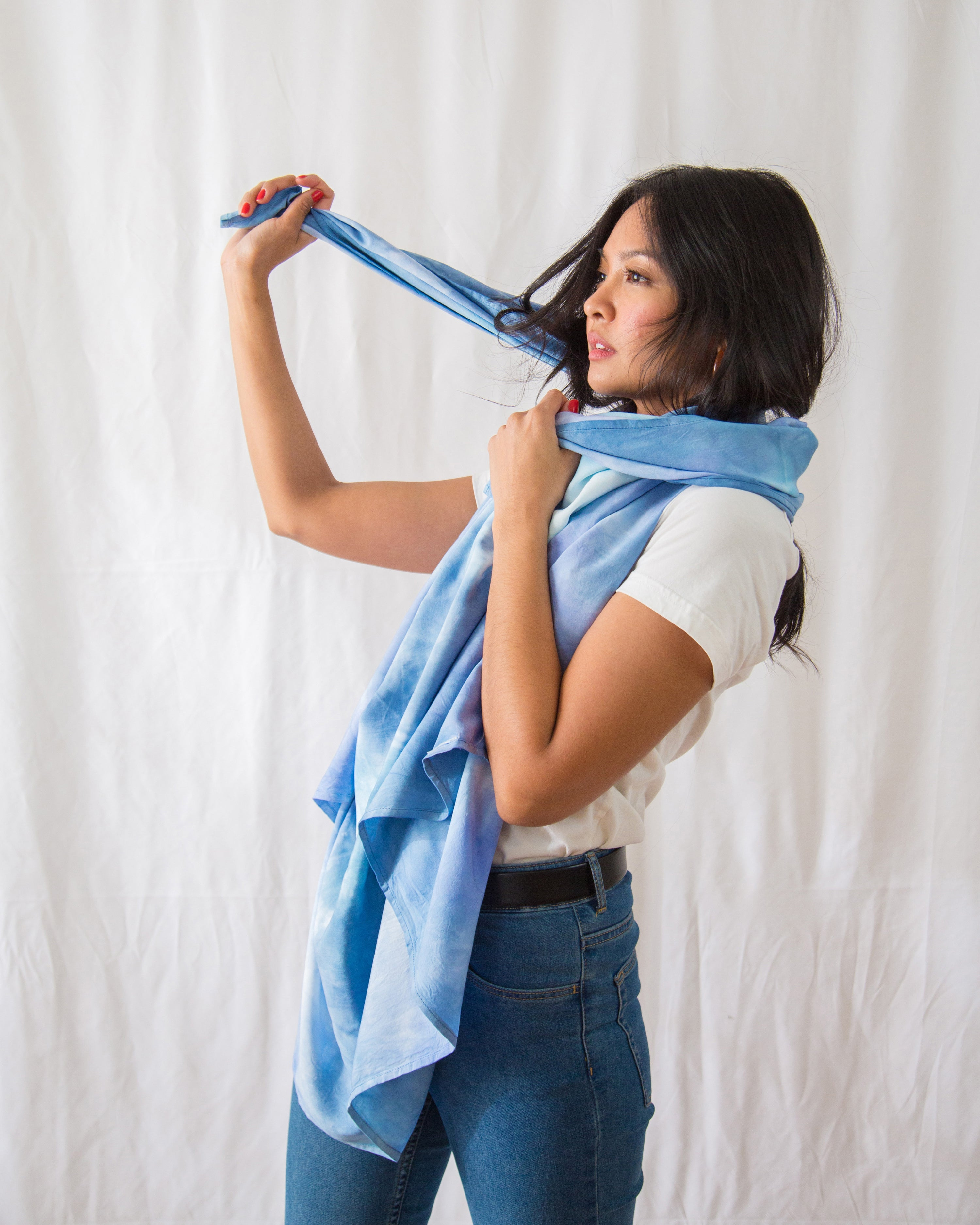 Sea and Sky Scarf/Sarong