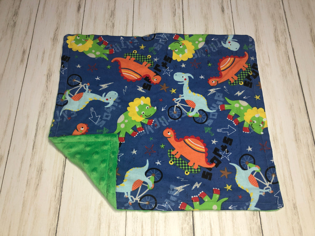 Dino Dolly Blanket